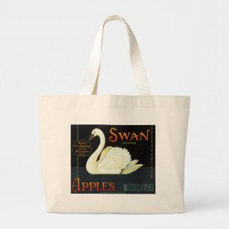Swan Brand Apples Tote Bags