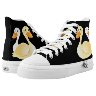 Swan Custom High Top Shoes