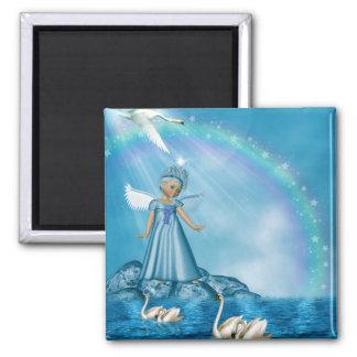 Swan Fairy Magnet