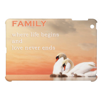 Swan family cover for the iPad mini