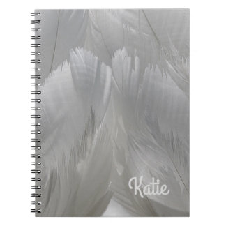 Swan Feathers Notebook
