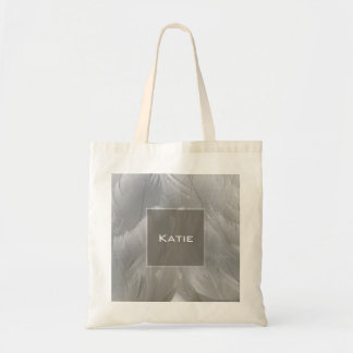 Swan Feathers Tote