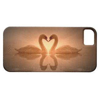 Swan Heart iPhone 5 Case