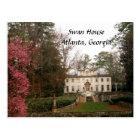 Swan House-Atlanta Postcard