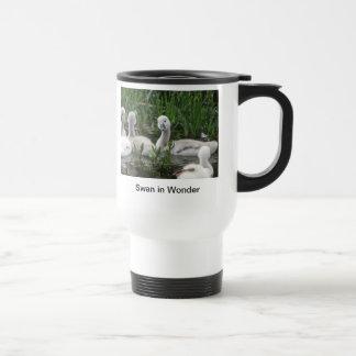 Swan in Wonder Stainless Steel Travel Mug