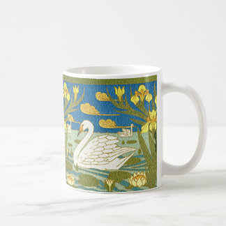SWAN LAKE ART NOUVEAU DESIGN MUG