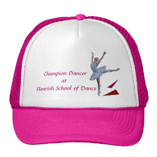 'Swan Lake Ballerina' custom Cap