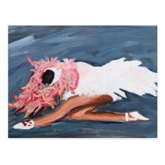 Swan Lake Ballerina Postcard