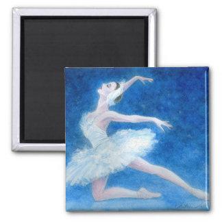 Swan Lake Ballet Magnet