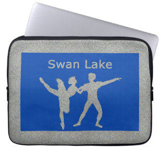 Swan Lake Laptop Computer Sleeves