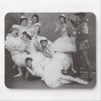 Swan Lake, Mariinsky Theatre, 1895 (b/w photo) Mouse Pad