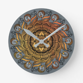 Swan Lake Round Clock