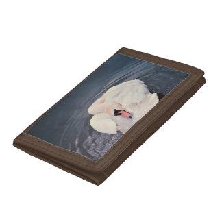 Swan · Lake Tri-fold Wallet