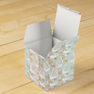 Swan Lily Pond Geo Multi Collage / Andrea Lauren Favour Box