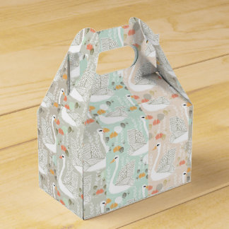 Swan Lily Pond Geo Multi Collage / Andrea Lauren Party Favour Box