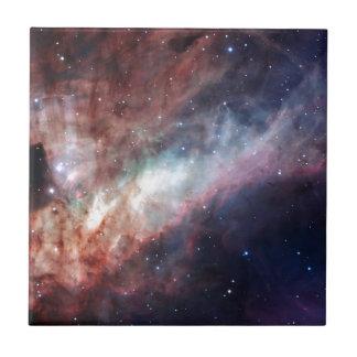 Swan Nebula Ceramic Tile
