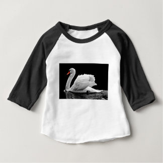 Swan On The Lake Baby T-Shirt