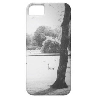 Swan on the lake barely there iPhone 5 case