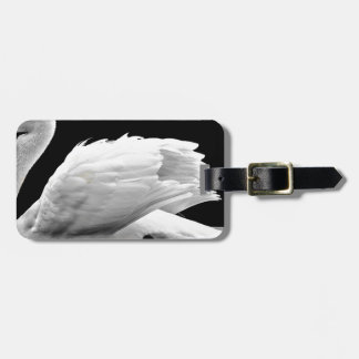 Swan On The Lake Luggage Tag