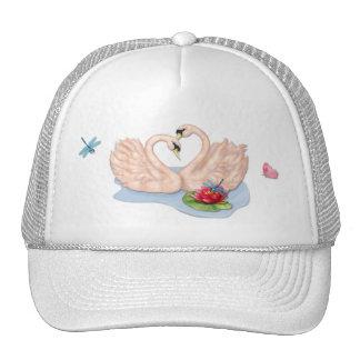 Swan Pair Cap
