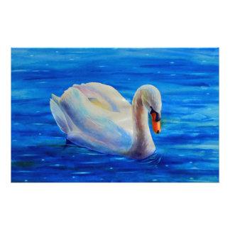 Swan Personalised Stationery