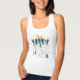 Swan Princess Derek & Odette Sketch Tank Top