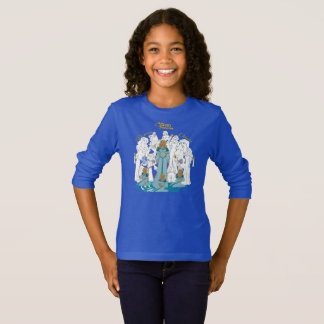 Swan Princess Girls' Sketch Long Sleeve T-Shirt