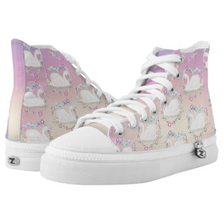 Swan Princess hi-top-tennis-shoe High Tops