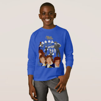 Swan Princess Kids' Sketch Long Sleeve T-Shirt