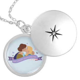 Swan Princess locket