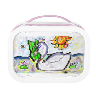 swan princess of her would lunch box