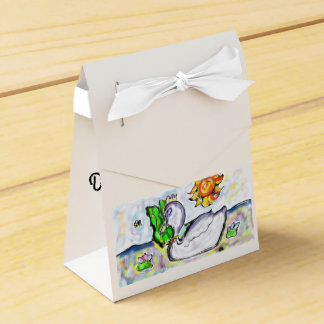 swan princess of her would party favour box