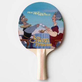 Swan Princess Ping Pong Paddle