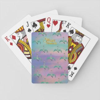 Swan Princess Playing cards
