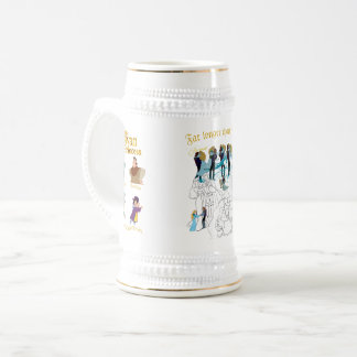 Swan Princess Royal Mug based on Royal Sketches