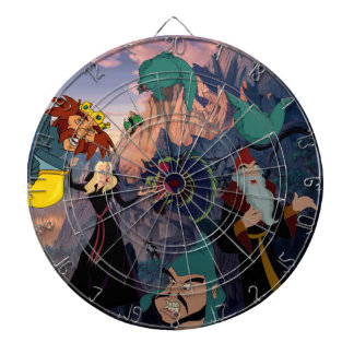 Swan Princess Villain Dartboard