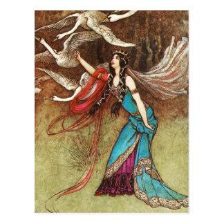 Swan Queen Postcard