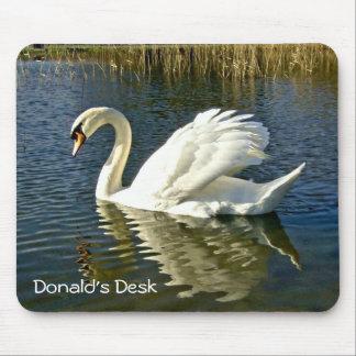 Swan Reflections ~ Mousepad