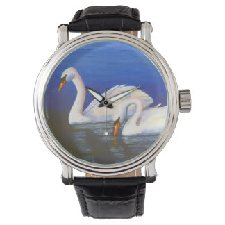 Swan Reflections Watch