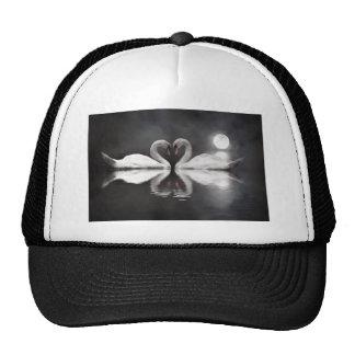 Swan romance trucker hats