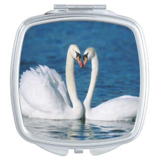 Swan Square Compact Mirror