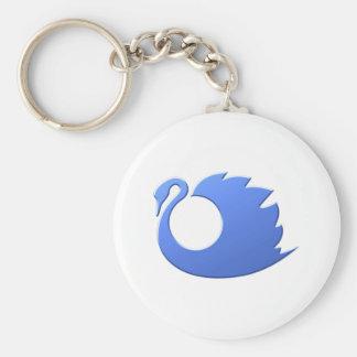 Swan swan key ring