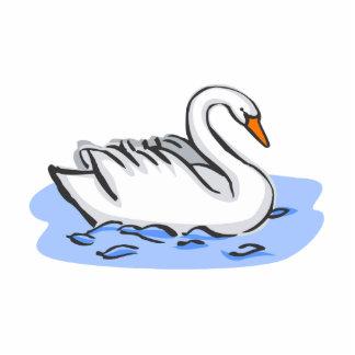 Swank Swan Photo Cutouts
