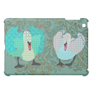 Swanky Swans Case For The iPad Mini