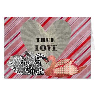 Swanky Swans True  Love Greeting Cards