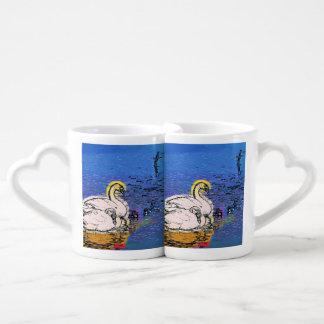 SWANS COFFEE MUG SET