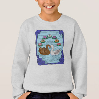 Swans in Love Sweatshirt