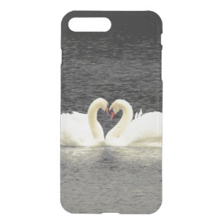 Swans iPhone X/8/7 Plus Clear Case