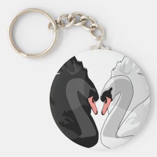 swans key ring