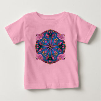 Swans of Pink Baby T-Shirt